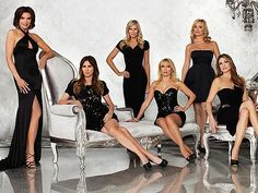 RHoNY Season 5 cast: LuAnn de Lesseps, Carole Radziwill, Aviva Drescher, Ramona Singer, Sonja Morgan and Heather Thomson
