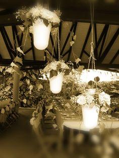 rosas, hortensias, arreglos florales, vintage, rustico