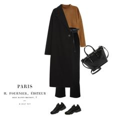 Paris look by djulia-tarasova on Polyvore featuring H&M, McQ by Alexander McQueen, Margaret Howell, NIKE, Aspinal of London and Y/Project