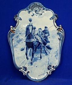 Delft Wall Plaque - for me, a Dr. Zhivago moment