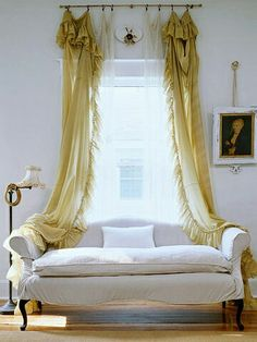 like the sofa but not crazy about the curtain placement