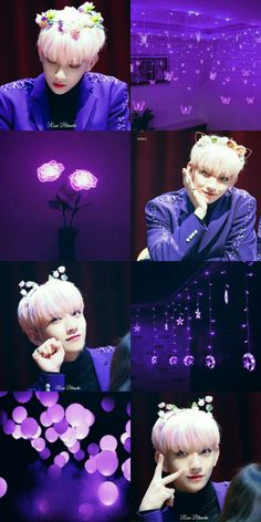 Awesome Information Purple Aesthetic Wallpaper : Aesthetic Collage, Kpop Aesthetic, Joshua Seventeen, Joshua Hong, Seventeen Wallpapers, Twitter Image, Purple Aesthetic, Wallpaper S, Wallpaper Lockscreen