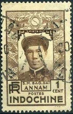 Indochina Stamp