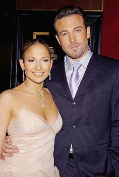 Jennifer Lopez and Ben Affleck/....Broken Engagements