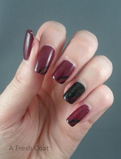 Fall Mani Queen Nails, Red Queen, Happy Thanksgiving, Fresh, Coat, Fall, Autumn, Sewing Coat, Coats