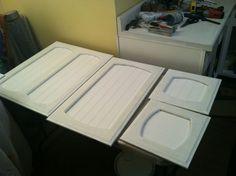 DIY Kitchen Reno-Reuse Repaint What You Got!!