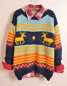 Oh please. I could rock this sweater like nobody has rocked anything before!
