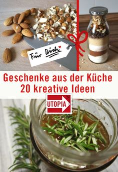 Homemade gifts from the kitchen: 15 ideas - Diy Kitchen Ideas 2019 Homemade Gifts, Diy Gifts, Christmas Presents, Christmas Diy, Diy Kitchen, Gourmet Recipes, Blog, Diy Peeling, Ideas