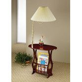 Found It At Wayfair   Elma Swing Arm Brass Lamp End Table