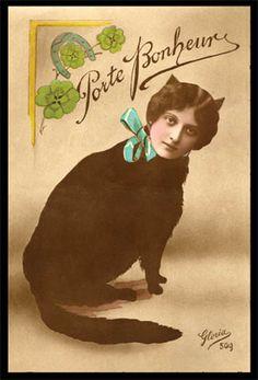 cat lady via Candice Guttman