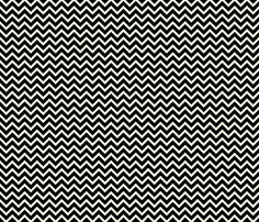 bw chevron fabric by thebline_|_amy_bethune_photography on Spoonflower - custom fabric