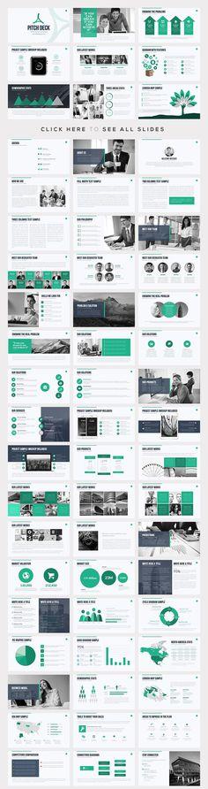 Best PowerPoint Template Bundle by SlidePro on @creativemarket