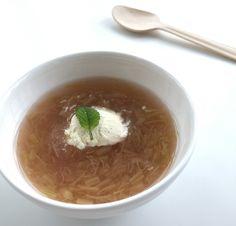 Tid for rabarbra, rabarbrasuppe Soup, Ethnic Recipes, Soups