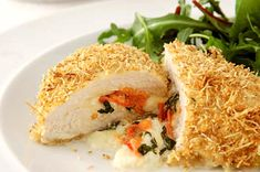 Looking for new chicken ideas? Try Tana Ramsay's recipe for a quick, healthy stuffed chicken breast meal that cooks in just 20 minutes