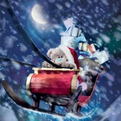 Santa Claus is Coming to Town ♡ Tatty Teddy tjn