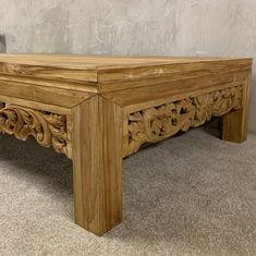Online Furniture, Home Furniture, Furniture Design, Interior Styling, Interior Decorating, Interior Design, Solid Wood Coffee Table, Decorating Coffee Tables, Teak Wood