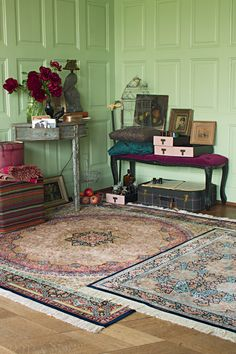 Carpets, Bohemian style by Pfister Living Forever, Global Design, Inspiration, House, Pfister, Home Decor, Suitcase Decor, Room, Woman Cave