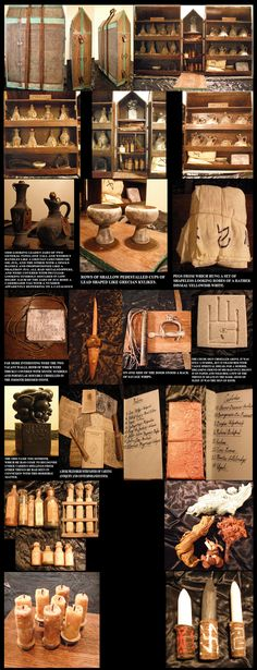 """Dale Bigford brings us this amazing prop collection based on H.P. Lovecraft's """"The Case of Charles Dexter Ward"""". He's certainly not the fir..."""