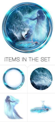 """Siren of the seas"" by callmerose ❤ liked on Polyvore featuring art"