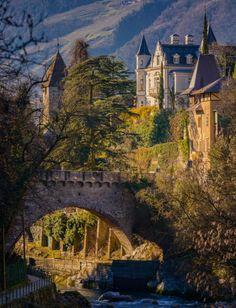 Castle in Merano, Italy. Photo by Alexander Konstantinov.