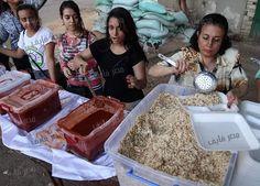 بالصور كنيسة الدوبارة بالقاهرة تقييم إفطار جماعي للمسلمين تحت اسم مائدة إفطار المحبة الوطنية