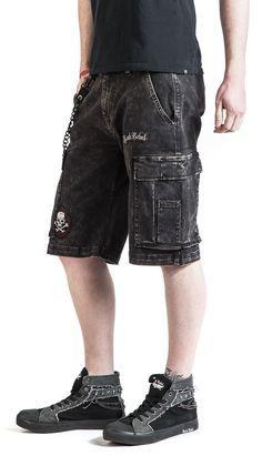 Garageland - Rock Rebel by EMP - Shortsit. Rebel, Rock, Shorts, Men, Fashion, Moda, Fashion Styles, Skirt, Locks