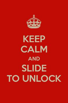 Keep Calm And Slide