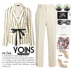 """""""The dreams that you do not doubt are the most feasible.  © Alexander Dumas YOINS #23"""" by holy-k15 ❤ liked on Polyvore featuring Roberto Collina, Gucci, Sugar Paper, yoins, yoinscollection and loveyoins"""