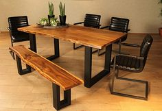 """Dining table, premium collection by home affaire, """"Queens"""", width 180 cm"""