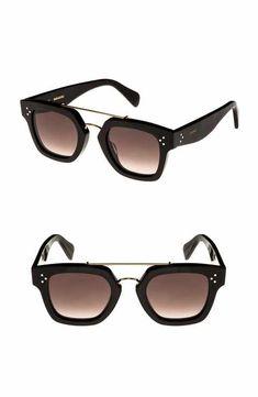ff15b3882354 Céline 47mm Gradient Square Sunglasses Italian Sunglasses