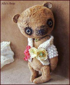 por Alla los osos diminuto 8 pulgadas original artista