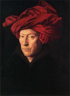 Jan van Eyck, portret van een man