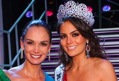 Prior to winning MU2010, Navarrete won Nuestra Belleza in Jalisco, Guatemala, Mexico. Lupita Jones, the only previous Miss Universe from Mexico was her coach and the director of Nuestra Belleza! No wonder.