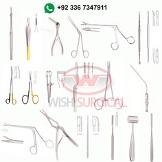 10 Best Suggested Instruments Set- Wish Surgical images in