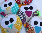 boo boo bag, ouchie, owie ice pack, Bird, bridie, owl, party favor, wholesale, cold pack, heat pack