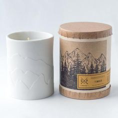 A fresh cut pine branch, fragrant with sap. soy candle with cotton wick. Ivory porcelain tumbler packaged in kraft tube. Tumbler hand cast by local Philadelphian makers. Burn Time: hours Hand-poured in small batches. Hand-signed by the artisan. Blue Candles, Soy Candles, Pine Branch, Aromatherapy Candles, Hand Cast, Dark Wood, Candle Holders, Feather, Artisan