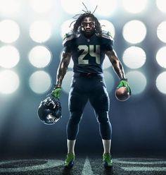 New Nike NFL Uniforms | Seattle Seahawks