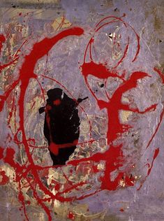 Jackson Pollock Red, black and silver, 1956 Jackson Pollock, Action Painting, Drip Painting, Painting & Drawing, Pollock Paintings, Lee Krasner, Paul Jackson, Small Paintings, Abstract Paintings