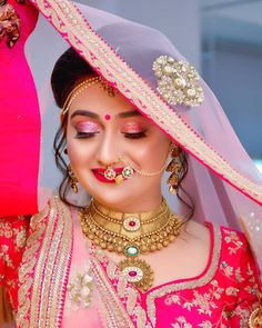 indian wedding photography and videography Indian Bride Poses, Indian Wedding Poses, Indian Bridal Photos, Indian Wedding Couple Photography, Bride Photography, Jewelry Photography, Photography Hashtags, Photography Gear, Bridal Eye Makeup