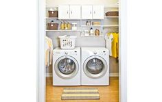 Organized laundry room inspiration