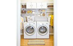 Organized laundry room inspiration