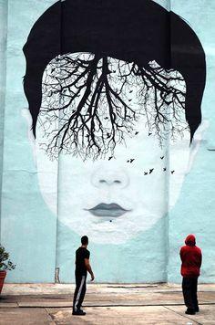 street art (New York City) - by Jules Julien