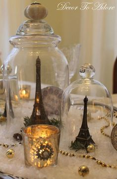 """""""A Parisian New Year's Eve""""!  Fete Ideas with French Flair!"""