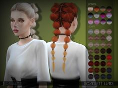 Sims 4 Hairstyles downloads » Sims 4 Updates » Page 16 of 746