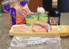 Repeat Crafter Me: Crock Pot Freezer Meals (for Summer!)crock pot Teriyaki Chicken