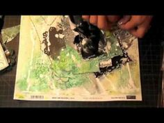 Mixed Media Layout Tutorial - Start to Finish - One of the many reasons why I need Design Memory Craft goodness!