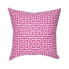 Small Village Pillow in Pink from the Greek Key event at Joss and Main!