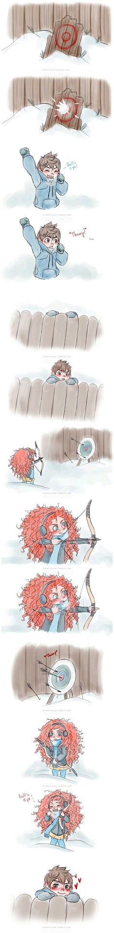 Jack and Merida! So cute!