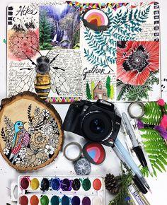 Camp Wanna-create art class Alissa Burke