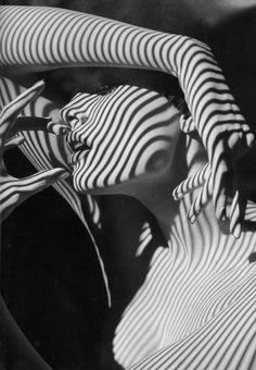 black-and-white:    Striped
